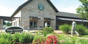 Village Commons Fort Campbell's Starbucks.