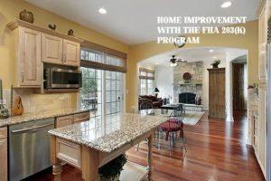 FHA 203(k) Home improvement