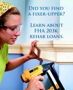 Getting a FHA 203k loan Clarksville TN