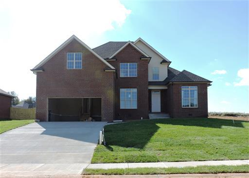 320 farmington subdivision clarksville tn 37043 new for New construction homes in clarksville tn