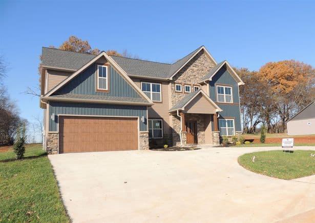 Beech Grove Clarksville TN   New construction homes for sale